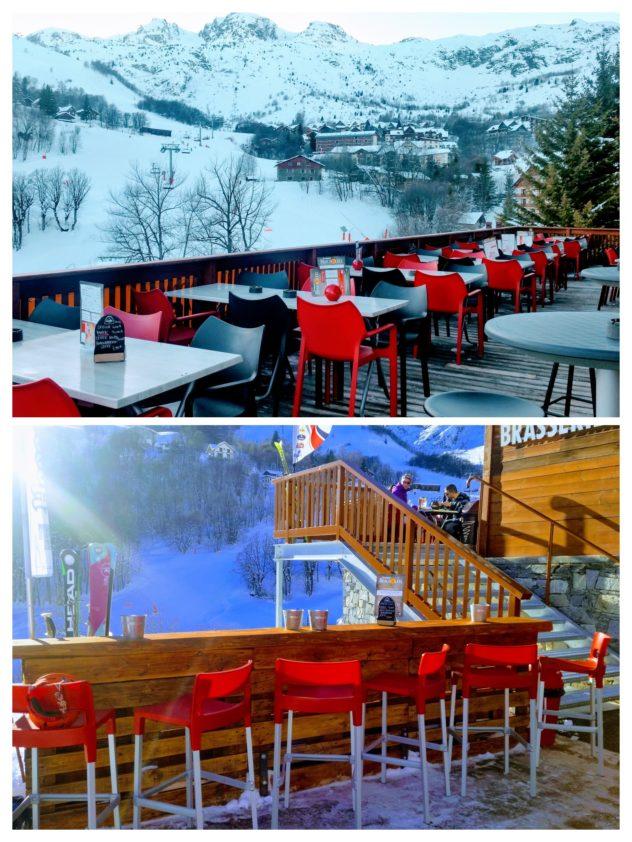 Brasserie Beausoleil Front de neige